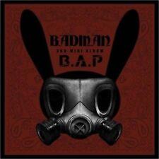 B.A.P [BADMAN] 3th Mini Album CD+Photobook+Photocard+Stencil K-POP SEALED