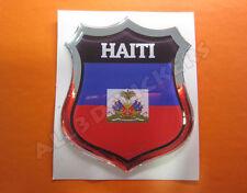 Adesivi Resinati 3D Scudetto Bandiera Haiti - Tutte le Bandiere