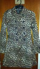 NWOT Super Cute Rampage Leopard Print Long Jacket Junior Size Medium