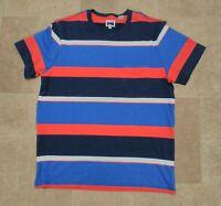 "LEVIS VINTAGE CLOTHING LVC RED/WHITE/BLUE  STRIPED T SHIRT TEESHIRT  44"" BNWOT"
