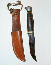 Vintage Ka-Bar 1233 Hunting/Skinning knife USA made