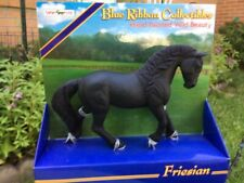 FRIESIAN TOY HORSE by Safari Ltd/ Blue Ribbon/ NEW in pkg/ RETIRED