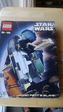 Lego Star Wars Very Rare Jango Fetts Slave 1 - 7153 100% Complete