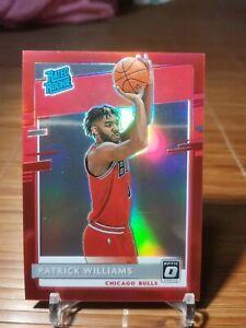 2020-21 Patrick Williams Panini Donruss Optic Rated Rook Red 11/99 Chicago Bulls