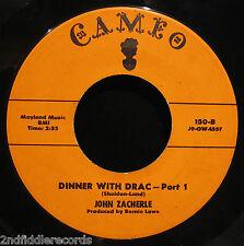 JOHN ZACHERLE-Dinner With Drac-Early Rock Novelty 45-CAMEO #130-C