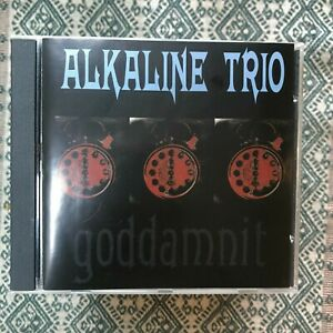 ALKALINE TRIO GODDAMNIT 2003 PUNK ROCK CD ENHANCED