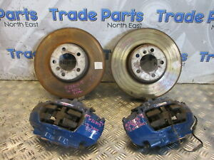 2015 BMW F30 320i X DRIVE M SPORT BRAKE CALIPERS DISCS FRONT ONLY BREMBO #26805