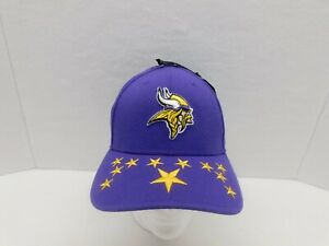 New Era NFL 100 Years Minnesota Vikings Fitted Hat 39THIRTY Med/Lrg NEW W/TAGS