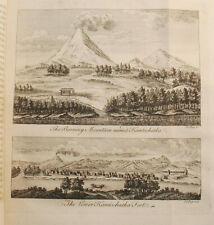 Exploration Russia Alaska Aleutians Bering Steller 1764 1st w/Maps Engravings