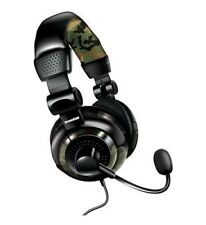 DreamGear Universal Elite Wired Gaming Headset w/ Microphone Camo DG-DGUN-2574