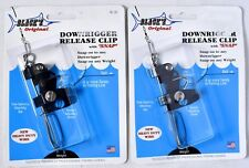 (Lot of 2) BLACK MARINE PRODUCTS Downrigger Release Clip With Snap RC-95 >NEW<