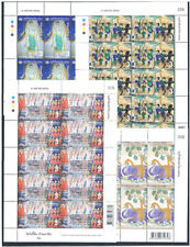 THAILAND 2018 Mural Paintings F/S 4(3b x 10)