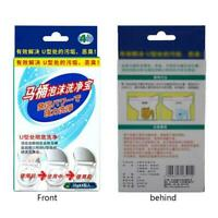 4Pcs Toilet Bubble Bomb Cleaner Cleaning Supplies T4A3