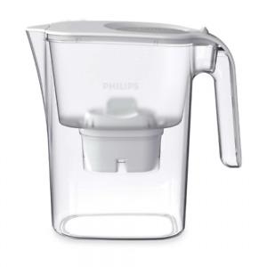Phillips Water Filter Jug  W/ Micro X-Clean Filter Purifier Fridge Friendly