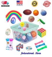 24 Pack Bundle Sensory Fidget Toys Set for Autistic Kids, ADHD, Anti-Stress Toys