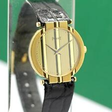 PIAGET POLO REF #8273 18K SOLID YELLOW GOLD QUARTZ LADIES WATCH