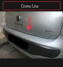 Striscia cromata portellone Fiat Punto Evo e  Grande Punto Abarth Sport Tuning