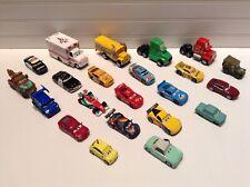 Disney Pixar Cars 1:55 Scale Diecast Metal Toy Vehicles Lot Set Of 22
