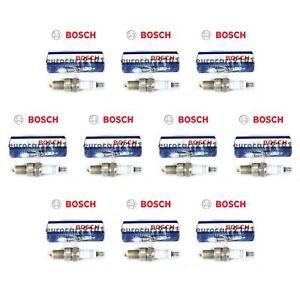 Set of 10 Volkswagen Rabbit Bosch Spark Plugs 7900 7900