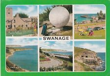 Swanage Mutiview Postcard used VGC