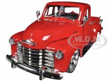 1953 CHEVROLET 3100 PICKUP TRUCK RED 1/24 DIECAST MODEL BY JADA 96864