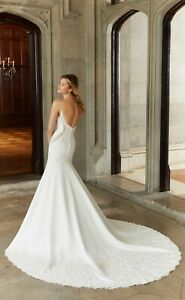 Mori Lee 2136 Size 10 GENUINE Wedding Dress 2020 collection Ivory With tags