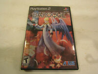 Baroque  game for   PS2 in Very Good Condition  with  No Manual Free Shipping