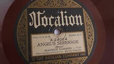 Maurice Dambois - 78rpm single 10-inch – Vocalion #24024 Angel's Serenade