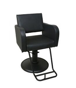 Talisa Heavy Duty Designer Styling Chair High Capacity Salon Chair - Black Onyx