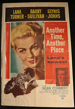 Another Time, Another Place Original 1-sheet -1958 Lana Turner Folded (C-5)