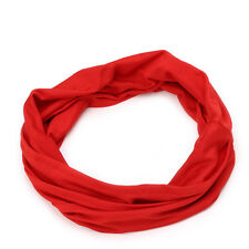 Soft Women Elastic Stretch Running Wide Hairband Yoga Headband Turban Head Wrap