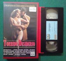 VHS FILM Ita Thriller TORBIDO DESIDERIO nick cassavetes ex nolo no dvd(VH76)