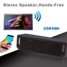 New ListingWireless Bluetooth Speaker Subwoofer Portable Indoor Outdoor Stereo Mini Speaker