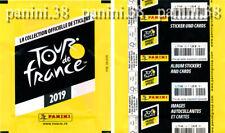"RARE !! Pochette ""TOUR DE FRANCE 2019"" packet, tüte, bustina PANINI"