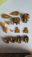 Gold Bionicle Lego random pieces 10+