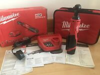 Milwaukee M12IR-201B 12v 1x2.0Ah Li-ion 3/8in Cordless Impact Ratchet