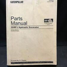 Caterpillar 324D L Excavator Parts Manual JJG1-Up SEBP4515 Feb 2006 918 Pages