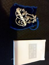 Avon Pewter Christmas Ornament 2001 with Box