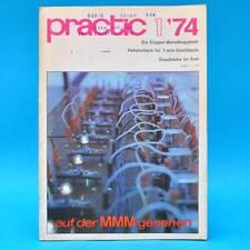 DDR practic 1/1974 Folientreibhaus Gr. Blumenschale Doppel-Wandklappbett Tisch H