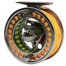 Fly Line Combo 3/4 5/6 7/8 9/10WT CNC Machined Fly Reel Fly Fishing Reel Combo