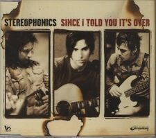 STEREOPHONICS Since I told you its over  3 TRACK CD     NEW - NOT SEALED