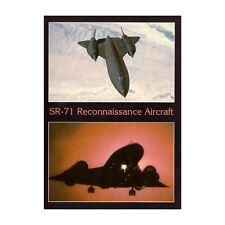 USAF - SR-71 Reconocimiento Avión - avión Tarjeta postal - Bueno Calidad