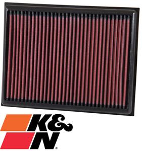 K&N REPLACEMENT AIR FILTER FOR NISSAN NAVARA NP300 D23 QR25DE YS23DDT 2.3 2.5 I4