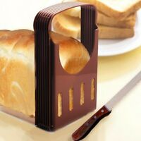 New Bread Loaf Toast Slicer Cutter Cutting Cuts Guide Kitchen Tool TR0249