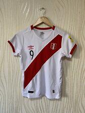 PERU 2014 2015 HOME FOOTBALL SHIRT SOCCER JERSEY UMBRO GUERRERO
