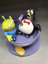 Disney Toy Story Ornament Little Green Man Men LGM Alien Wheezy Spinning Teacup