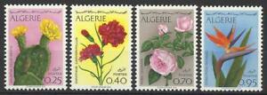ALGERIA 1969 FLOWERS SET MINT