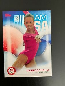 GABBY DOUGLAS - #75  - 2016 Topps Olympics