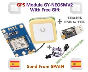 GPS Module Flight Control Eeprom Comaptible with GY-NEO6MV2 NEO-6M