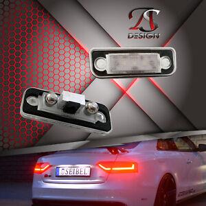 Premium LED License Plate Light For Tesla Model S